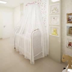 Chambre bébé de style  par Ju Lima Arquitetura e Interiores