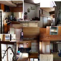 Salas multimedia de estilo rústico por tai_tai STUDIO