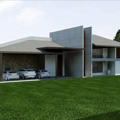 Casa de Campo  - ITU: Casas do campo e fazendas  por AM arquitetura e interiores