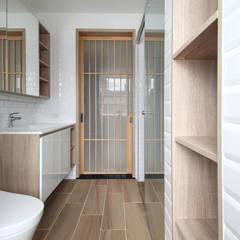 朝日:  浴室 by 樂沐室內設計有限公司