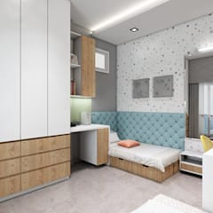 Girls Bedroom by Neelanjan Gupto Design Co