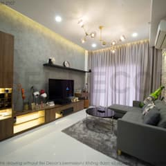 Project: HO1784 Apartment (IC)/ Bel Decor :  Phòng khách by Bel Decor,