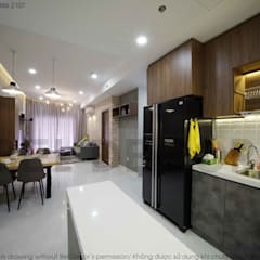 Project: HO1784 Apartment (IC)/ Bel Decor :  Tủ bếp by Bel Decor