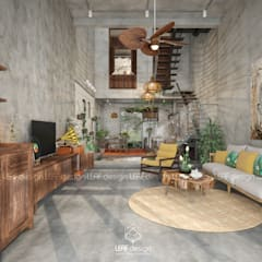 Living room by LEAF Design ,