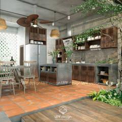 aziatische Keuken door LEAF Design