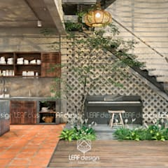 Kitchen by LEAF Design , Asian