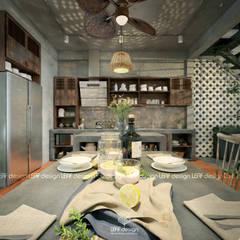 Kitchen by LEAF Design ,