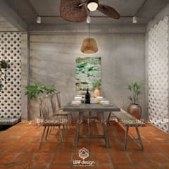 Dining room by LEAF Design