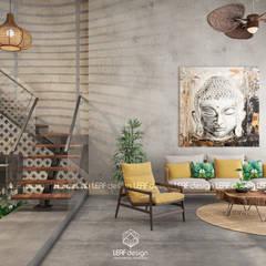 Living room by LEAF Design