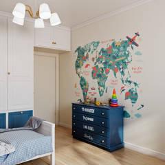Принцип контраста: Детские комнаты в . Автор – CO:interior