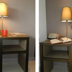 Veladores diseñados y ejecutados por DDO: Dormitorios de estilo  por DDO Diseño