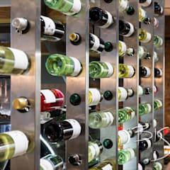 Wine Wall:  Commercial Spaces by Bisca Staircases
