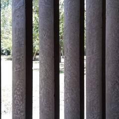 Vivienda M+S GB: Jardines de invierno de estilo  por Arquitectura Bur Zurita,Moderno