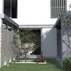 Modern style gardens by Arquitectura Bur Zurita Modern