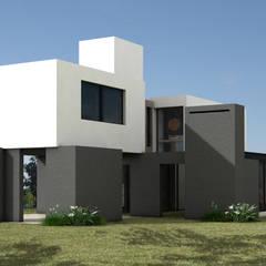 105SEV: Casas unifamiliares de estilo  por JAMStudio