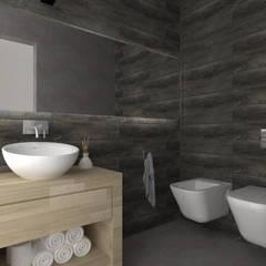 105SEV: Baños de estilo  por JAMStudio,Industrial