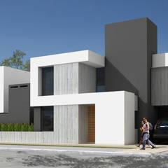 Дома на одну семью в . Автор – JAMStudio, Минимализм