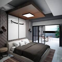 Dormitorios de estilo  por Grupo ARK