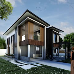 Proposed Two Storey Residential:  Villas by DJD Visualization and Rendering Services