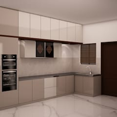 Kitchen with Loft and Tall unit:  Kitchen by NVT Quality Build solution