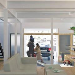 Nursery/kid's room by 大塚高史建築設計事務所