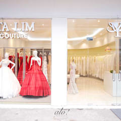 Yunita Lim Couture - Shopfront:  Commercial Spaces by studioalo