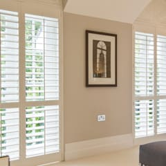 Shutter installation for local interior designer's Project:  Hotels by Eden House Professional Shutters