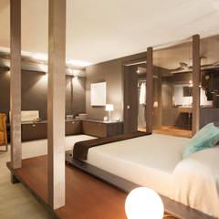 El Capricho: Dormitorios de estilo  de ESTUDIO DE CREACIÓN JOSEP CANO, S.L.