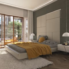Bedroom Design : modern Bedroom by NVT Quality Build solution