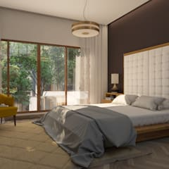 ​Bedroom Design : modern Bedroom by NVT Quality Build solution