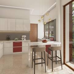 Modern Kitchen : modern Kitchen by NVT Quality Build solution