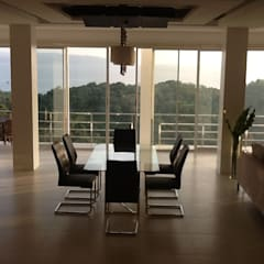 2012 PROJECTS: modern Dining room by MKC DESIGN