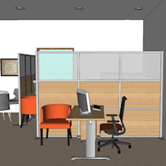 2014 PROJECTS:  Study/office by MKC DESIGN