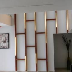 Wände von Inspire Interiors & Archcons India Pvt Ltd