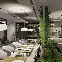 :  Gastronomy by KOKON zespół architektoniczny,Modern Concrete