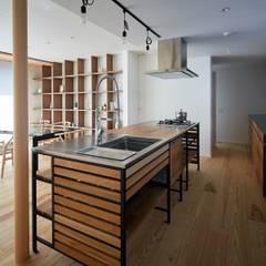 مطبخ تنفيذ 一級建築士事務所 株式会社KADeL , أسيوي