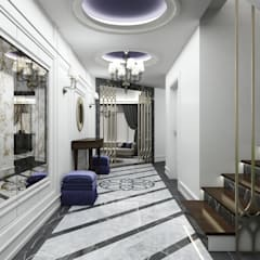 Pasillos y vestíbulos de estilo  por Niyazi Özçakar İç Mimarlık