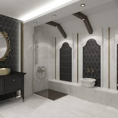 Niyazi Özçakar İç Mimarlık – H.S EVİ: klasik tarz tarz Banyo