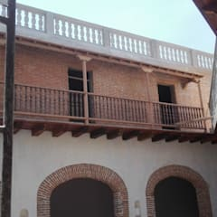 PROYECTO CALLE DEL CANDILEJO CON CALLE COCHERA DEL GOBERNADOR: Habitaciones de estilo colonial por LAGART SAS