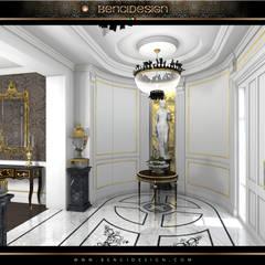 Villa Moscow: Ingresso & Corridoio in stile  di BenciDesign