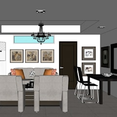 2015 PROJECTS: modern Living room by MKC DESIGN