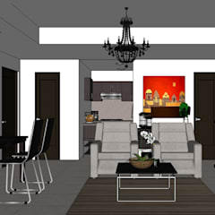 2015 PROJECTS:  Living room by MKC DESIGN