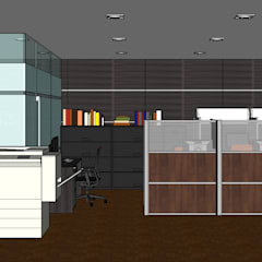 2015 PROJECTS: modern Study/office by MKC DESIGN