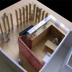 서초동 스튜디오 : (주)건축사사무소 예인그룹의  계단,북유럽 우드 + 플라스틱