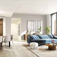 Salas / recibidores de estilo  por GD Arredamenti, Mediterráneo