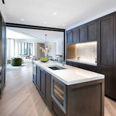 Built-in kitchens by GD Arredamenti, Mediterranean Solid Wood Multicolored