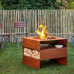light-my-fire: minimalistischer Garten von keilbach designprodukte