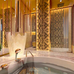 Paradise Bath:  Bathroom by Mahesh Punjabi Associates