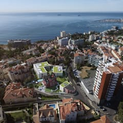 Montrose - Estoril Capital Partners: Telhados  por Onstudio Lda