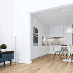 Boavista 62 - Estoril Real Estate: Cozinhas  por Onstudio Lda